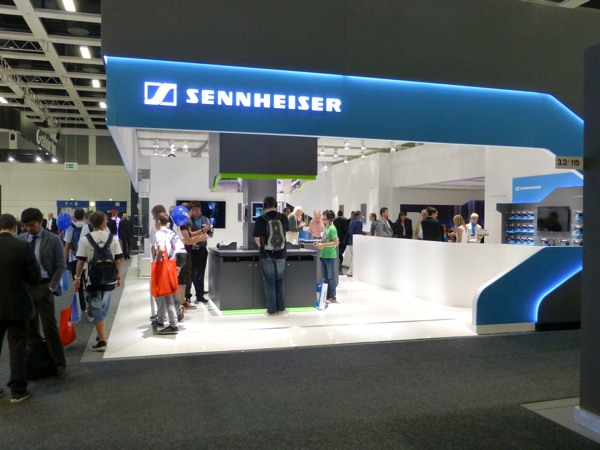sennheiser stand IFA 2012