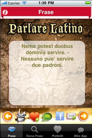frasi in latino sul lavoro