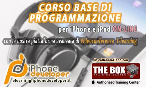 iPhoneDeveloper: Corso Base di programmazione iOS online