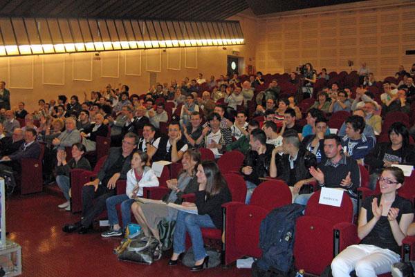 A colpi di Bit aula Magna Politecnico Torino