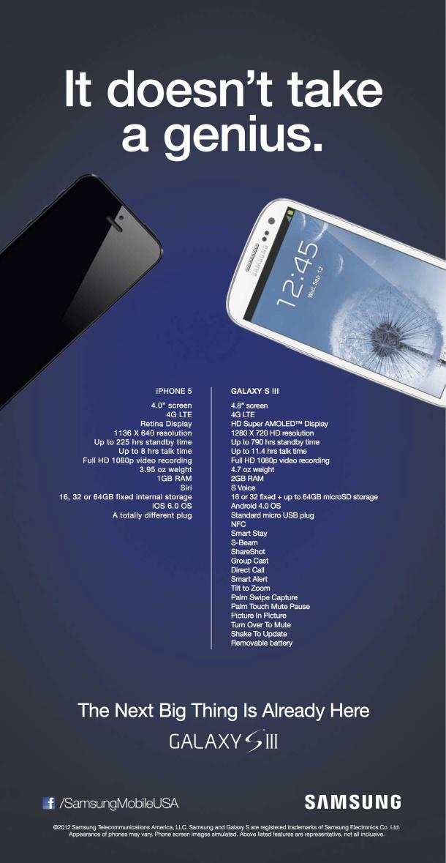 Annuncio Samsung