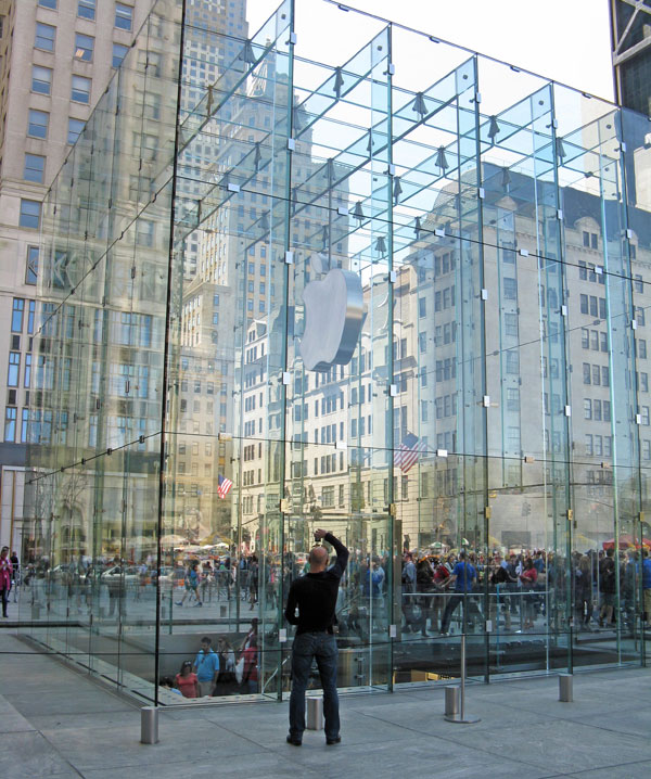 Apple Store Quinta Strada  New York - cubo 2010