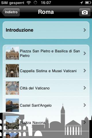 Audio guide delle Cosmopoli per iPhone e iPad