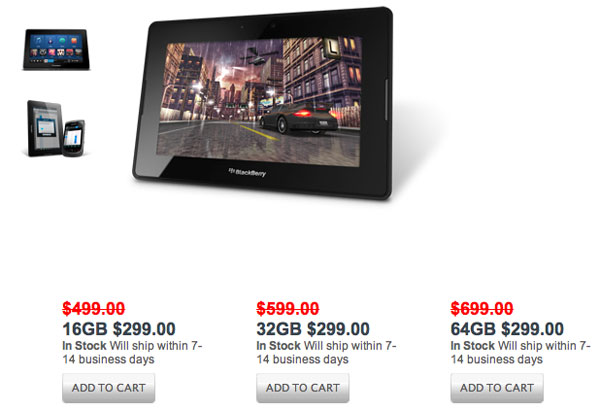 PlayBook sconto store USA