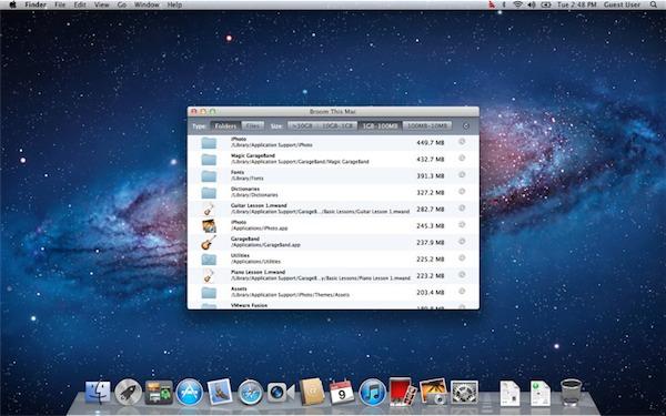 Broom per Mac