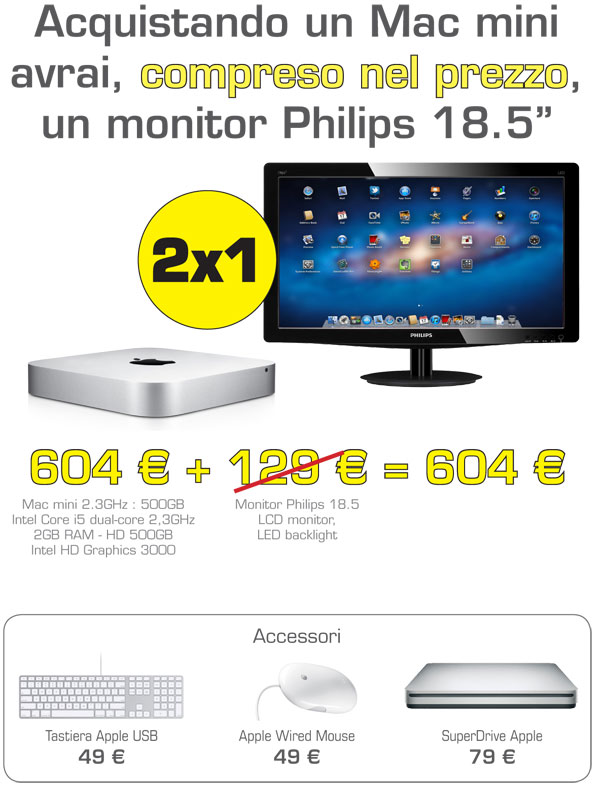 CE Group promo mac mini