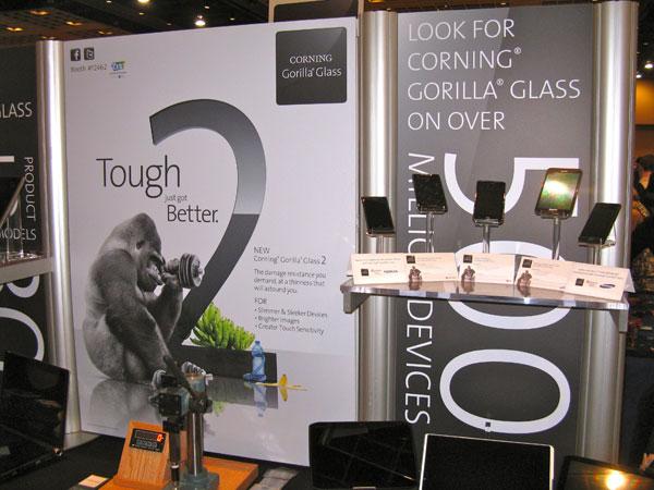 CES 2012 Corning Gorilla Glass 2