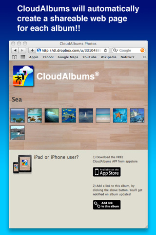 CloudAlbums