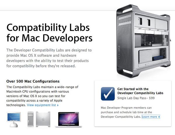 Apple Compatibility Lab