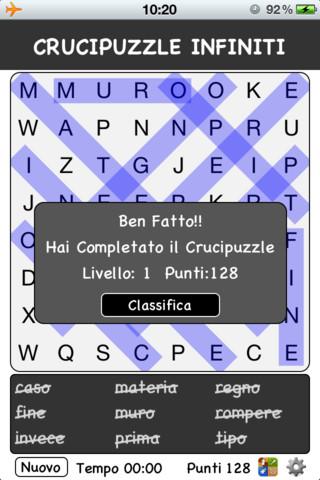 Crucipuzzle Infiniti!