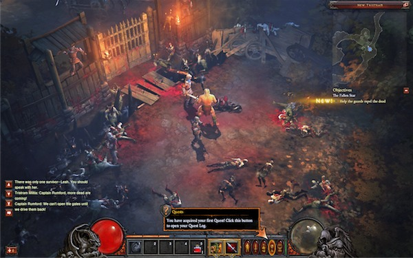 Blizzard Diablo III - beta