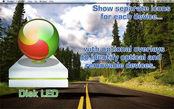 Disk LED