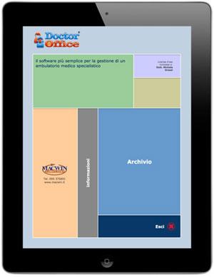 iPad con DoctorOffice 2