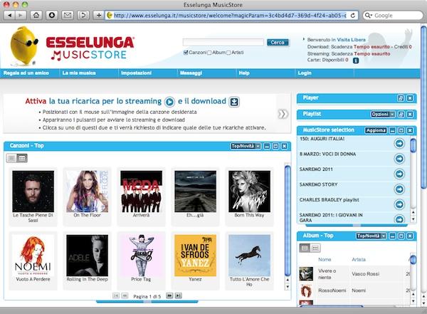 Esselunga MusicStore