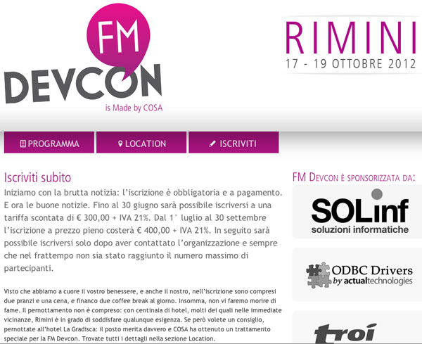 FM Devcon 2012