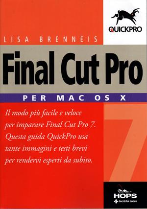 Libro Final Cut Pro per Mac OS X
