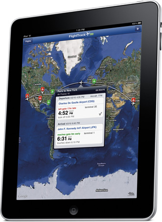 FlightTrack iPad