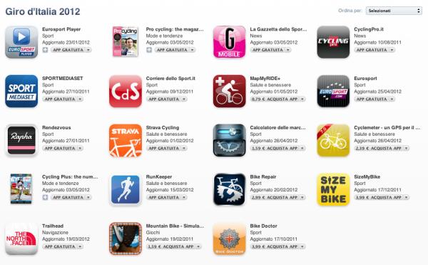 giro d'italia app store