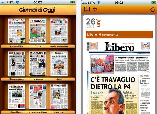 Giornali Oggi per iOS