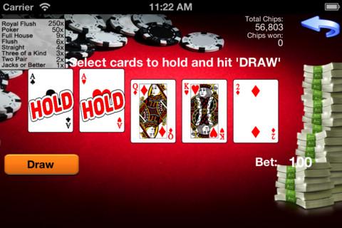 Golden Video Poker