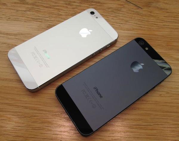 bianco e nero iPhone 5