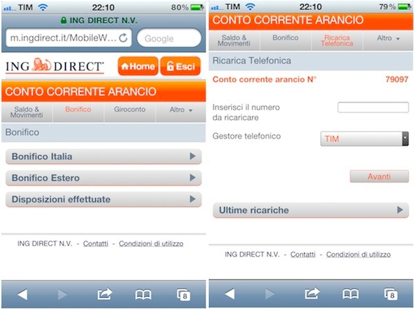 web app ing direct