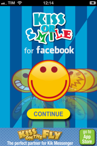 Kiss Or Smile per Facebook