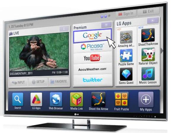 LG TV 600