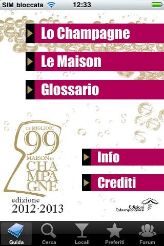 Le Migliori 99 Maison di Champagne
