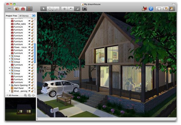 Live interior 3d standard piantine e ambienti 3d per l for Software design interni