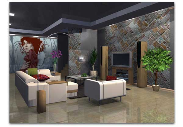 live interior 3d 2 6 il design d 39 interni alla portata di. Black Bedroom Furniture Sets. Home Design Ideas