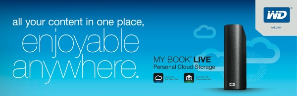 WD My Book Live 2TB Personal Cloud Storage