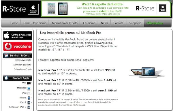MacBook Pro - promo - R-Store