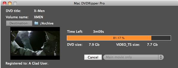 Mac DVDRipper Pro 3.0.2