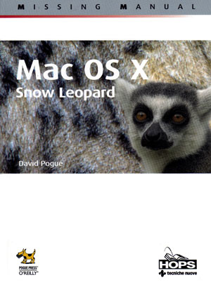 mac Os X snow leopard - the missing manual