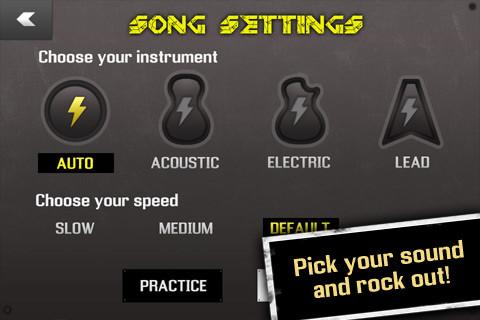 Magic Guitar per iPhone