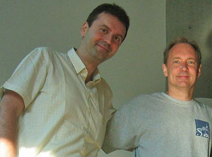 Massimo Marchiori con Tim Berners Lee Wikipedia
