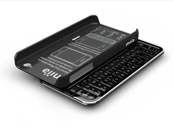 Miia Bluetooth Keyboard Case