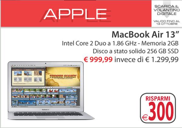 Mondadori offerta MacBook Air 13pollici