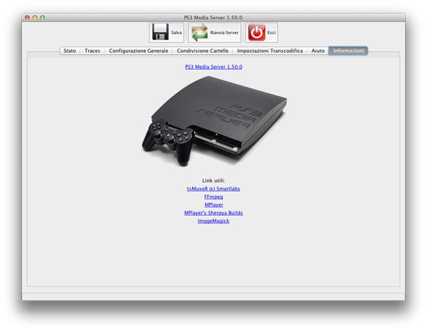 PS3 Media Server 1 5: condividere con DLNA su PS3, XBox e TV
