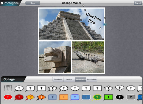 Photogene per iPad
