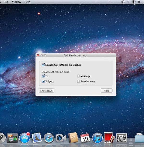 QuickMailer per Mac