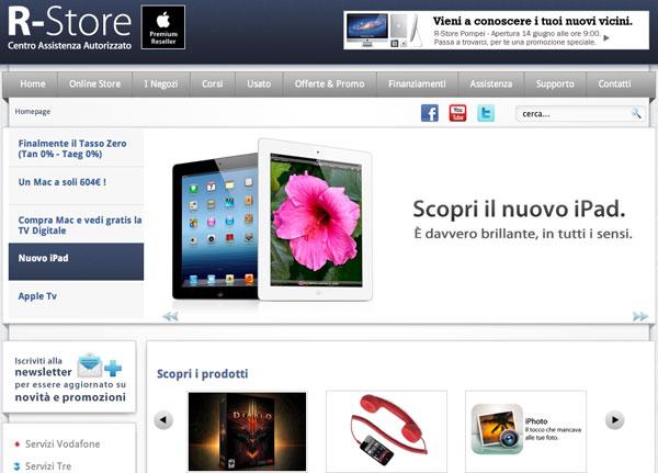 R-store sito web