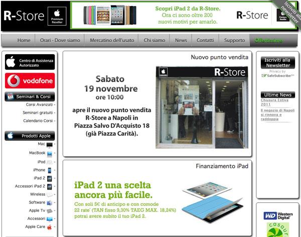 R-Store secondo APR Napoli