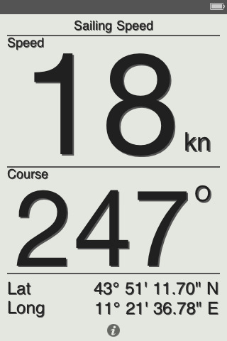 Sailing Speed