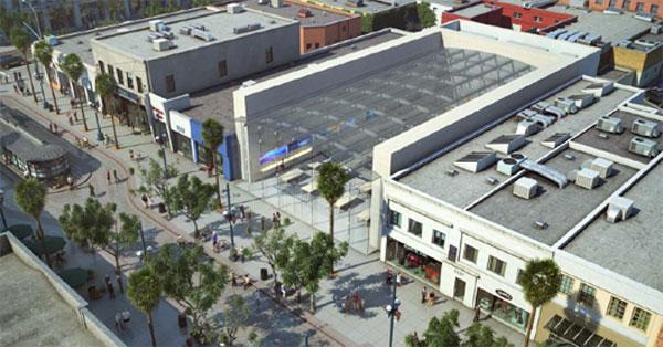 Apple Store Santa Monica progetto