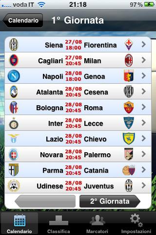 Serie A Tube 2011/12