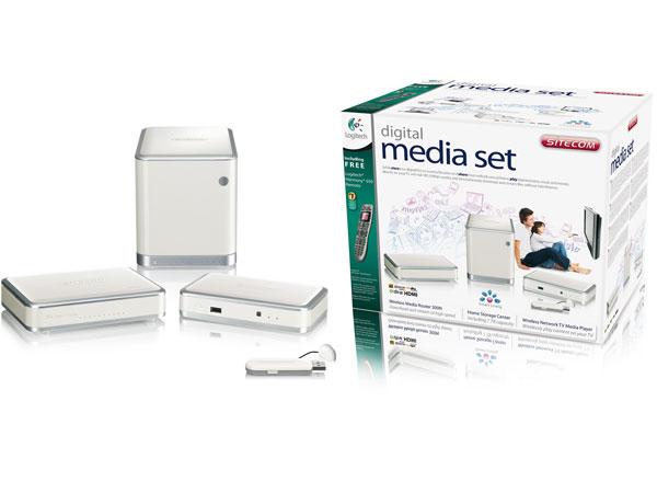 Sitecom Digital Media Set