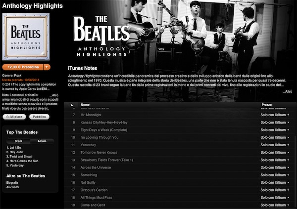 The Beatles - Anthology Highlights