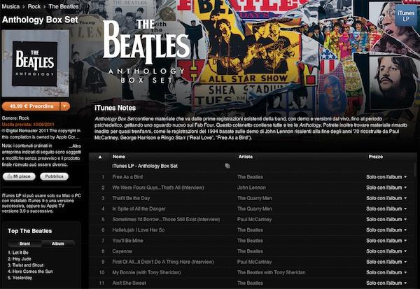 The Beatles - Anthology Box Set rimasterizzata